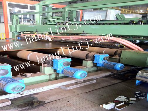4500钢板热风干燥应用